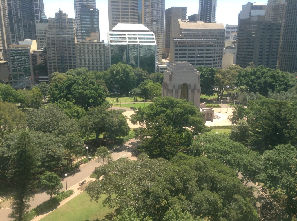 Anzac War Memorial Hyde Park Sydney