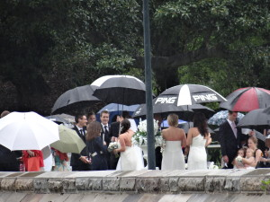 Sydney Wedding in the Rain
