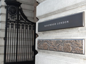 Rosewood London entrance High Holborn