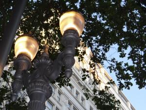 Portland downtown lights