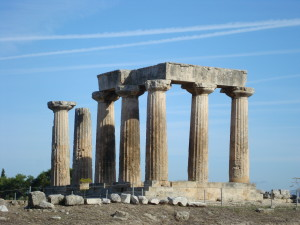 Temple of Apollo Corinth Greece