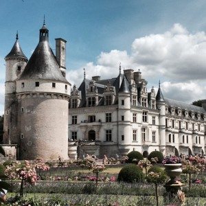 Loire Valley castle Chateau de Chenonceau