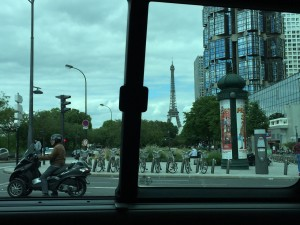 Eiffel Tower view from 15th arr