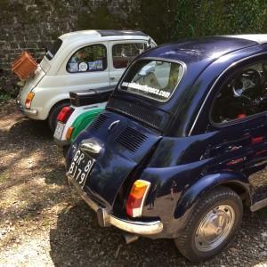 Fiat 500 Nuova Florence tour