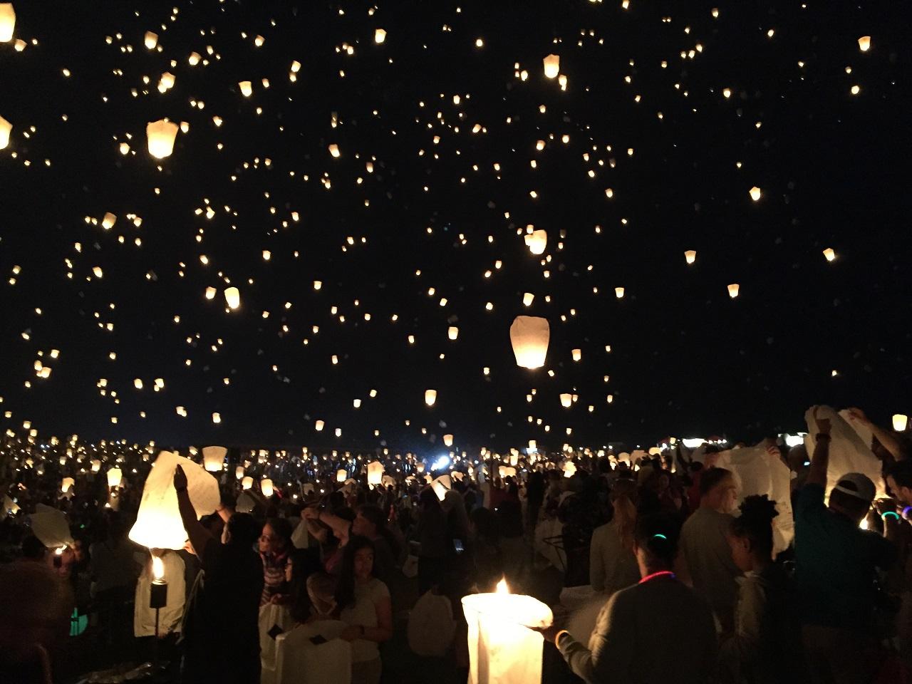 Review The Lights Festival In Philadelphia Lighting